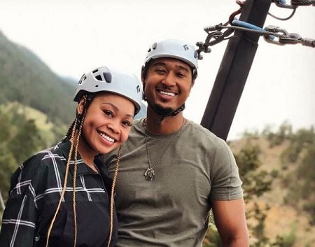 : Evvie McKinney and her husband Everett Anderson enjoys at AVA Rafting & Zipline.