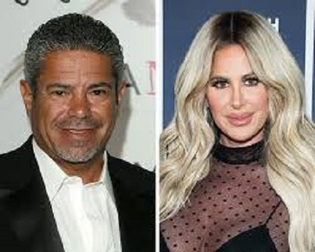 Lee Najjar Along With His Former Girlfriend, Kim Zolciak