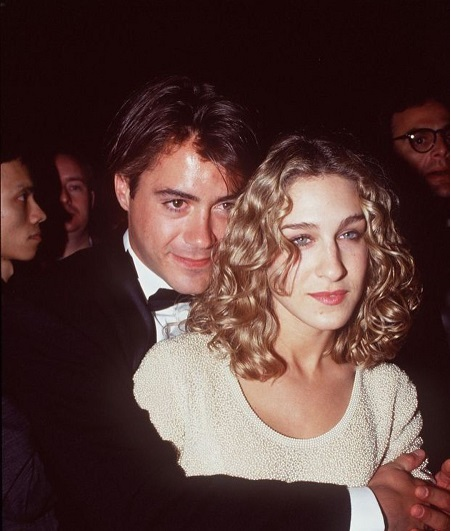 Robert Downey Jr. and His Ex-Girlfriend, Sarah Jessica Parker