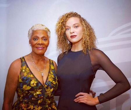 Cheyenne Elliott is the granddaughter of an American R&B, pop, singer, Dionne Warwick (left).