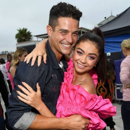 Wells Adams is a supportive partner to Sarah who looks after her illness as well