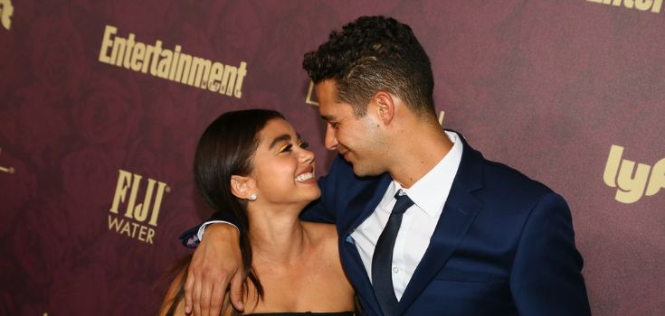 Sarah Hyland  and Wells Adams Love Relationship