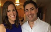 Jonathan Swan and  Betsy Woodruff Wedding